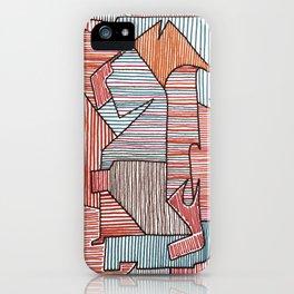 Bridget Riley iPhone Case