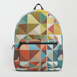 Abstract Squares Backpack