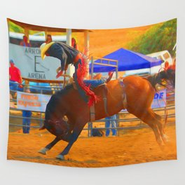 Up And Over Wall Tapestry