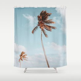 Palm Trees VII Shower Curtain