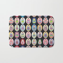 cute doll babushka matryoshka Bath Mat
