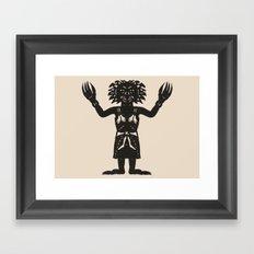 Black Annis  Framed Art Print