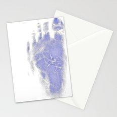 Frankenstein Feet Stationery Cards