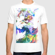 Bowie MEDIUM Mens Fitted Tee White