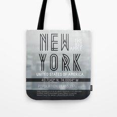 Metropolis New York Tote Bag