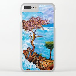 Torrey Pines Clear iPhone Case