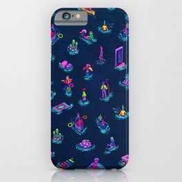 Weirdos Land - Dark  iPhone Case