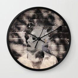 Blotter  Wall Clock