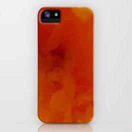 Textures (Orange version) iPhone Case