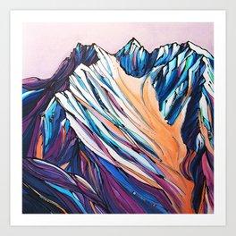 Goat Mountain at Jack Sprat Art Print