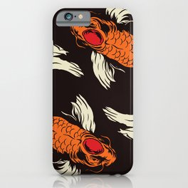 Two Koi iPhone Case