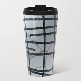 Linear Abtract Travel Mug
