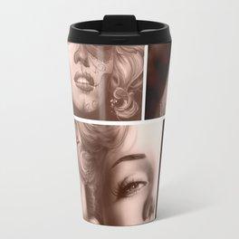 'Marilyn Collage' Travel Mug