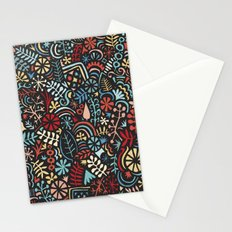 autumn doodle Stationery Cards