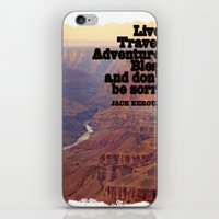 kerouac iPhone & iPod Skins featuring Kerouac by muffa