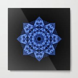 Evolution - Blue Lotus Metal Print