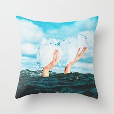Thief of clouds Throw Pillow