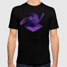 Donatello Forever Mens Fitted Tee Black MEDIUM