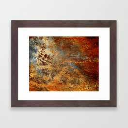Beautiful Rust Framed Art Print
