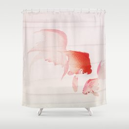 Two Gold fish Shower Curtain