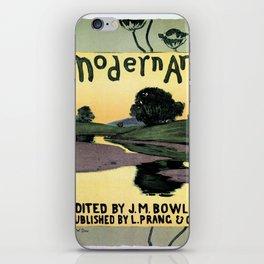 1895 Modern Art Arthur W. Dow iPhone Skin