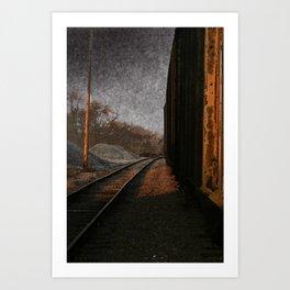 RUST. Art Print