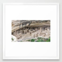 Cliff Palace  Framed Art Print