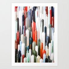 obelisk posture 2 (variant 2) Art Print