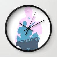 gta Wall Clocks featuring GTA V - MICHAEL DE SANTA by ahutchabove