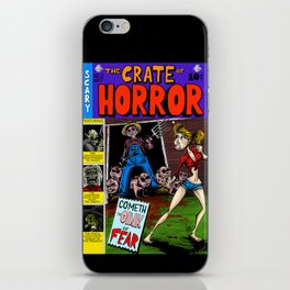The Crate of Horror iPhone Skin