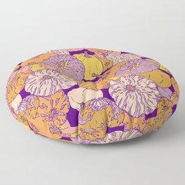 Pumpkin pattern Floor Pillow