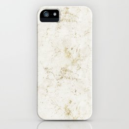 Gold Marble Mine Stone iPhone Case