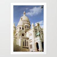 Sacre Coeur, Paris  Art Print