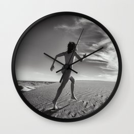Sandy Dune Nude - The Dash Wall Clock