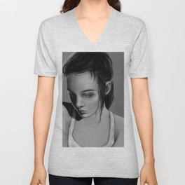 Shadow Of The Past Unisex V-Neck