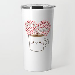 Cats And Coffee Lovers Caffeine Beverages Drink Coffee Brew Gift Travel Mug