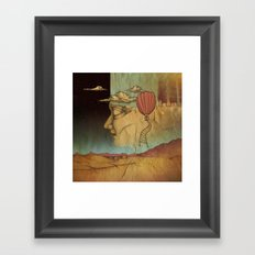 Overlands Framed Art Print