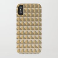 pyramid iPhone & iPod Cases featuring pyramid by Ioana Luscov