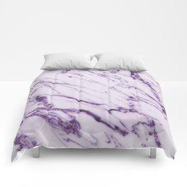 Violet Marble Design Comforters