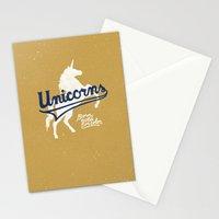 Unicorns Stationery Cards