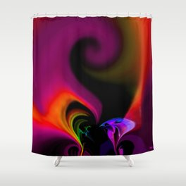 When you tell me you love me Shower Curtain