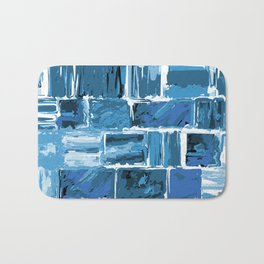 486 - Abstract Collection Bath Mat