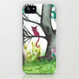 Padua Whimsical Cat iPhone Case