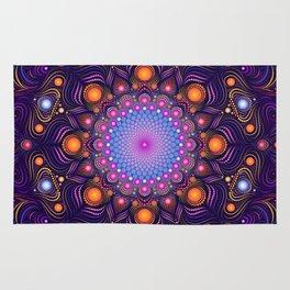"""Guardian"" Mandala painting Rug"