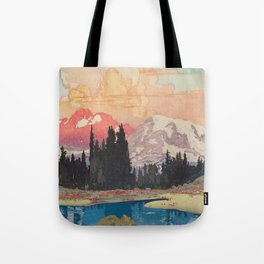 Storms over Keiisino Tote Bag