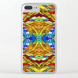 Pattern-213 Clear iPhone Case