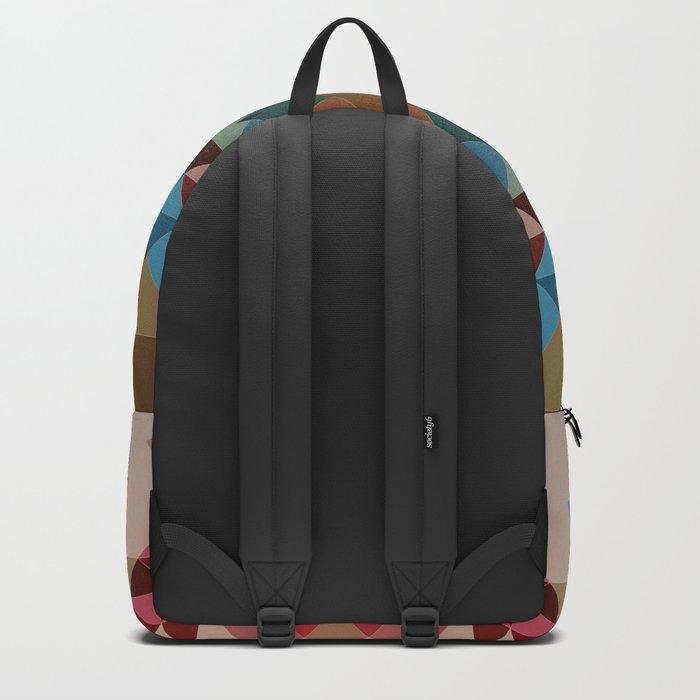 Abstract geometric I Backpack