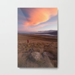 Tekapo High Country Metal Print