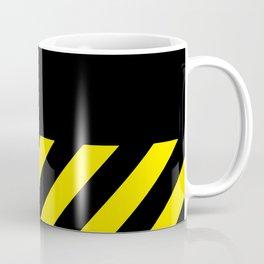"""CAUTION"" Coffee Mug"
