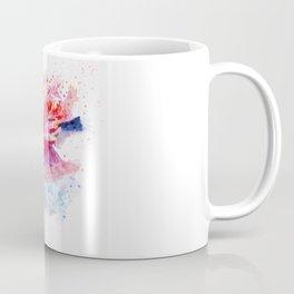 Flamingo on the Water Coffee Mug